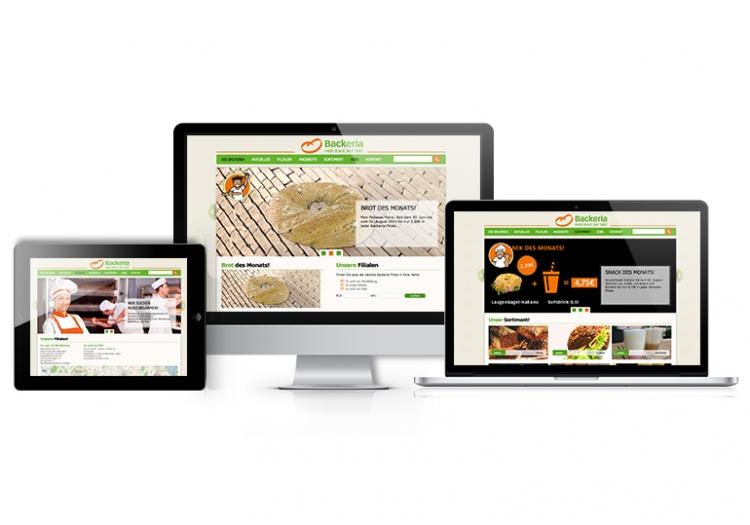 Relaunch www.backeria.de 1