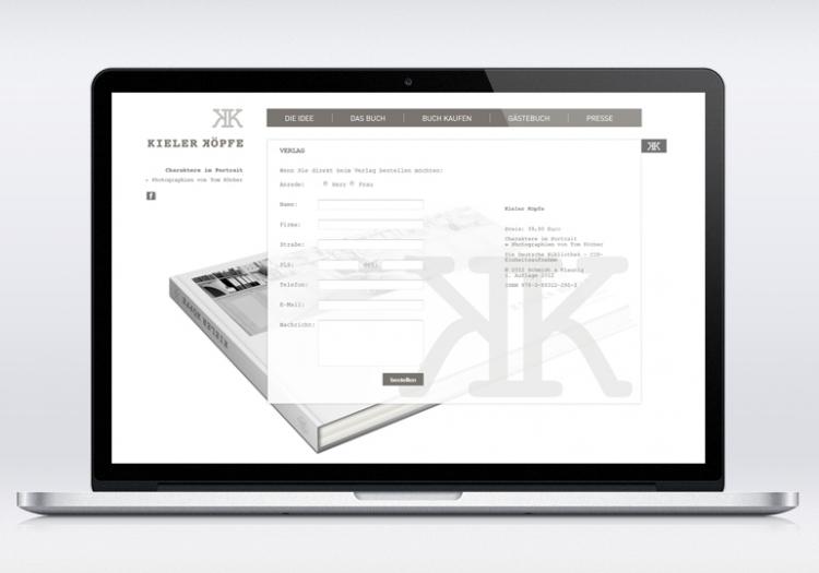 Kieler Köpfe Homepage 2