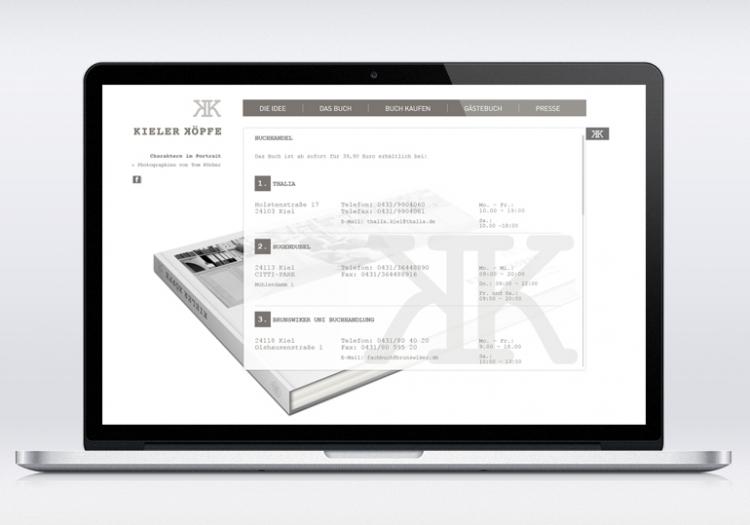 Kieler Köpfe Homepage 3
