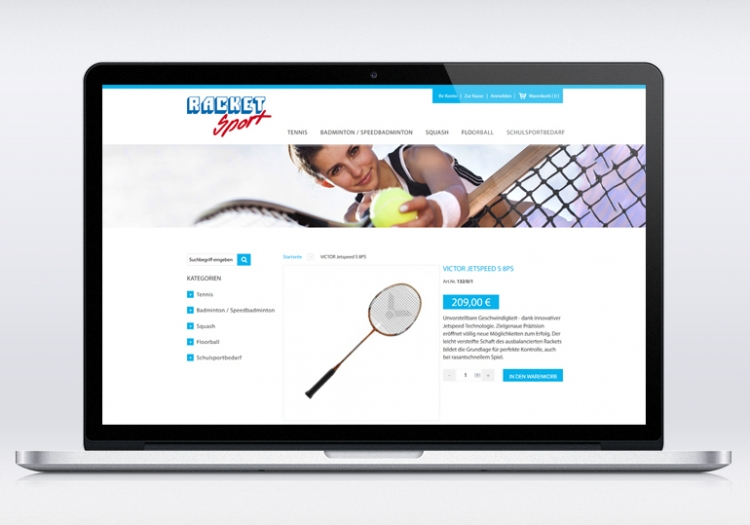 Racket Sport Onlineshop 2