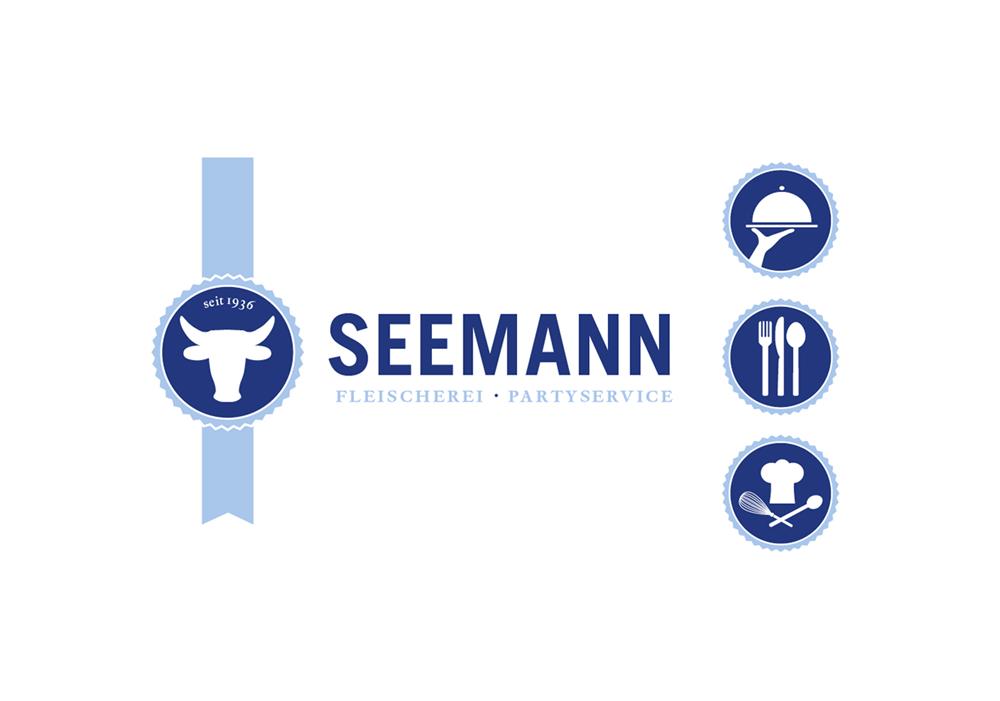 Logo für Fleischerei Seemann