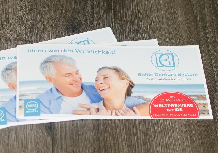 Logo- und Corporate Design Entwicklung für Baltic Denture System. 4