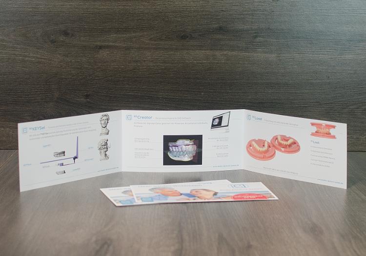 Logo- und Corporate Design Entwicklung für Baltic Denture System. 3