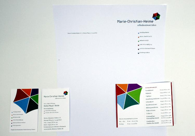 Corporate Design mit Leitgedanke 3