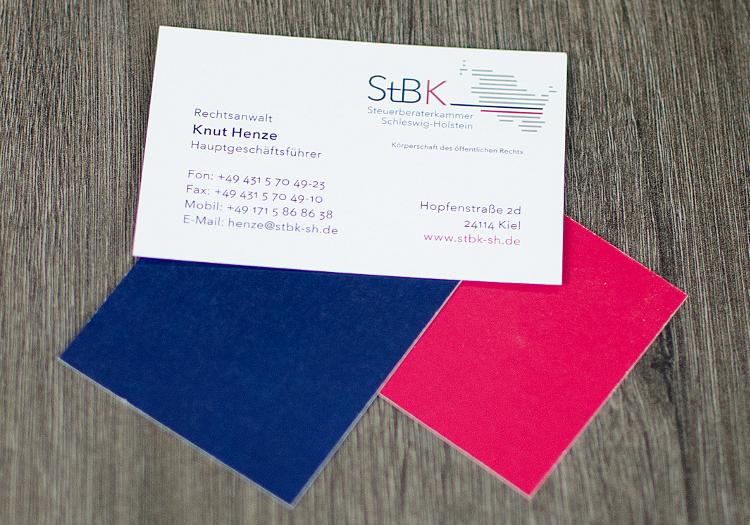 Geschäftsausstattung für StbK 2