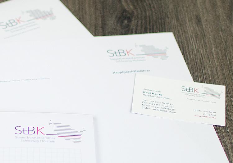 Geschäftsausstattung für StbK 3