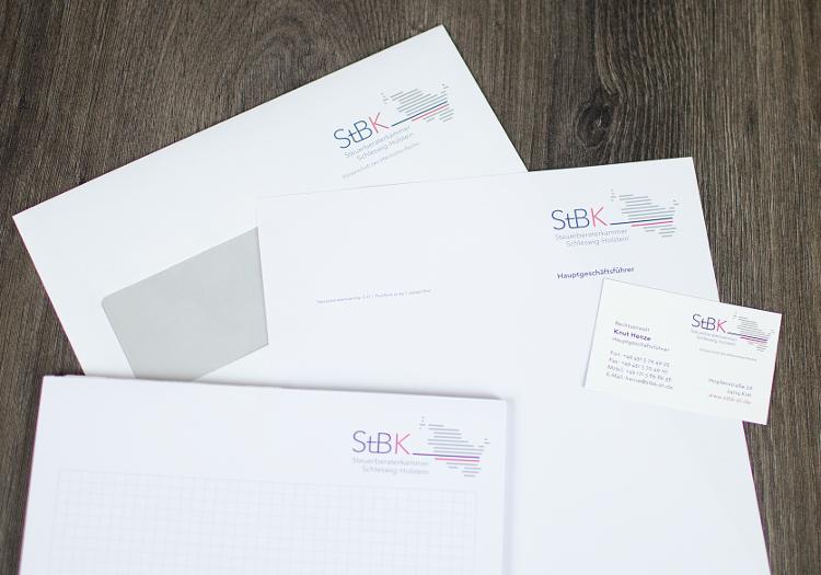 Geschäftsausstattung für StbK 4